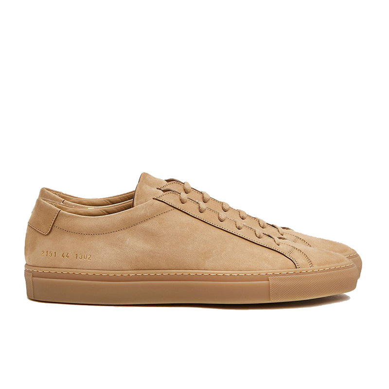 Men's Achilles Low Nubuck Tan