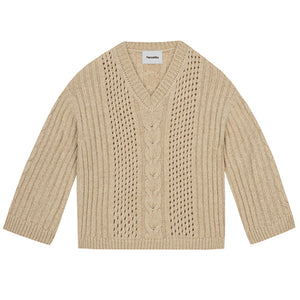 Arwan Chunky Cable Knit