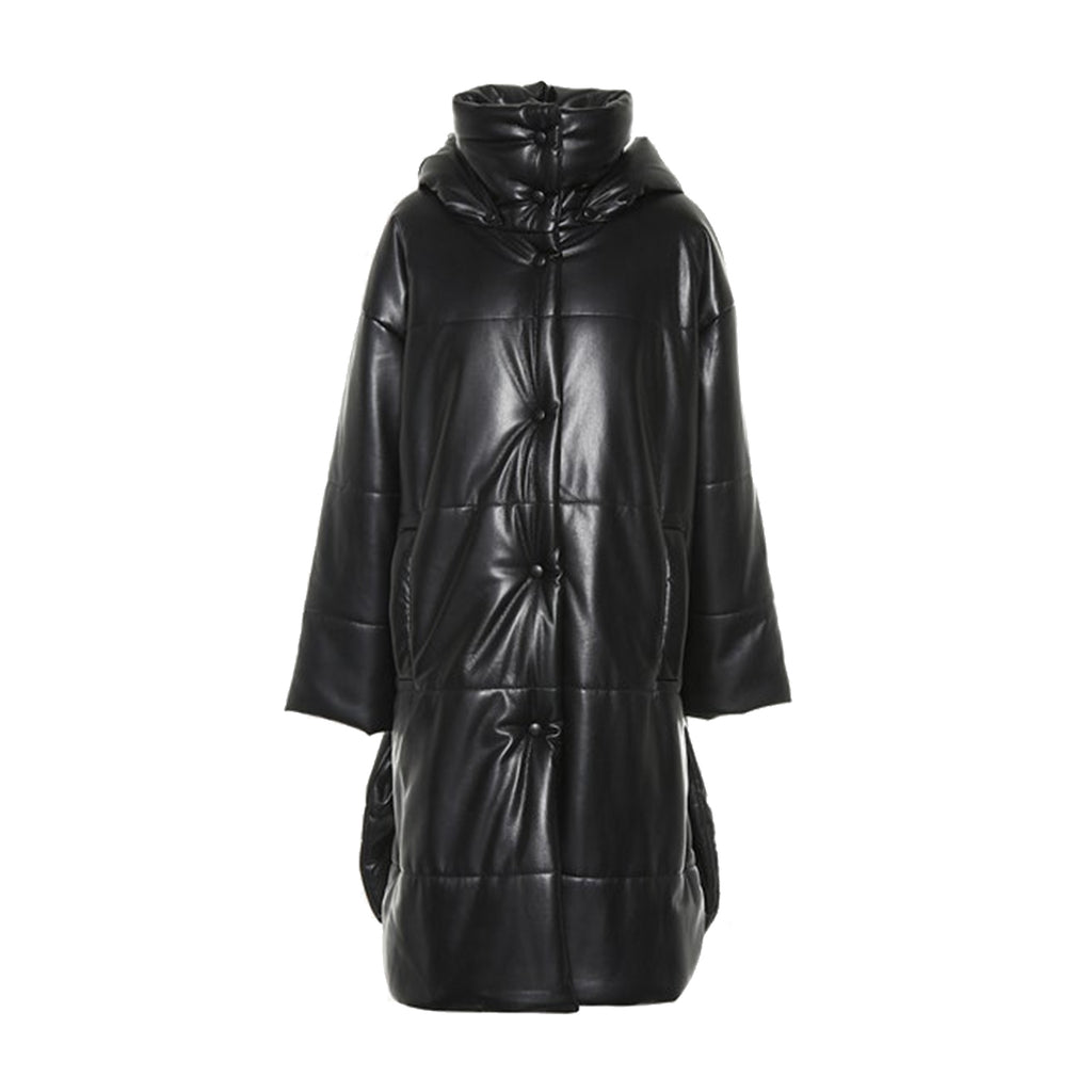 Eska Puffer Black Coat