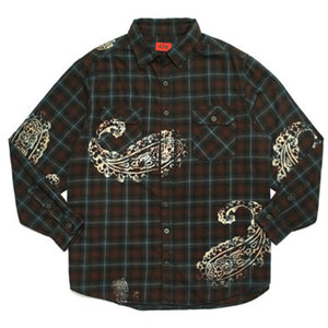 Paisley Flannel Shirt