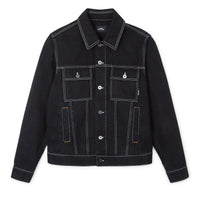Contrast Stitch Denim Jacket