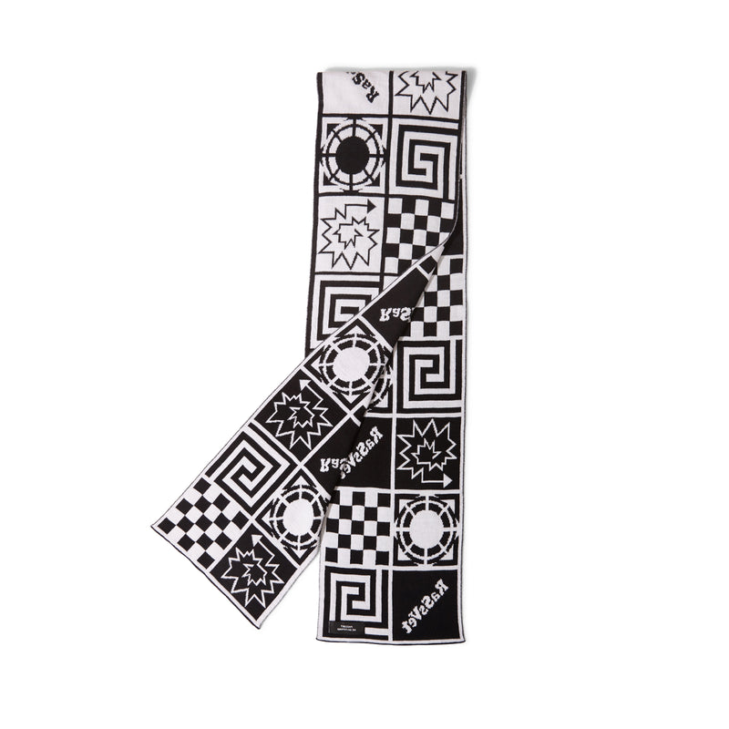Race Scarf White