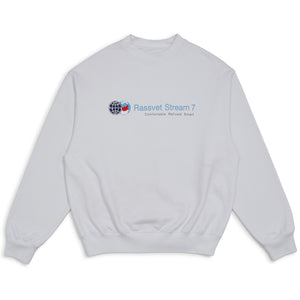 Stream Sweater White
