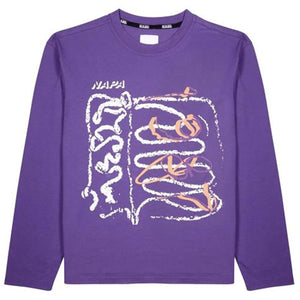S-Selanes L/S Purple T-Shirt
