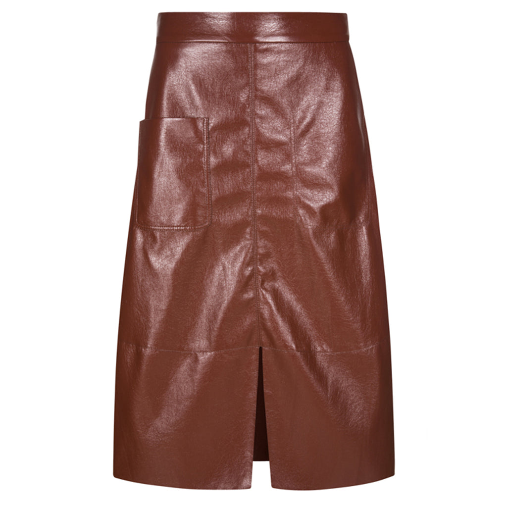 Ravy Faux Leather Skirt