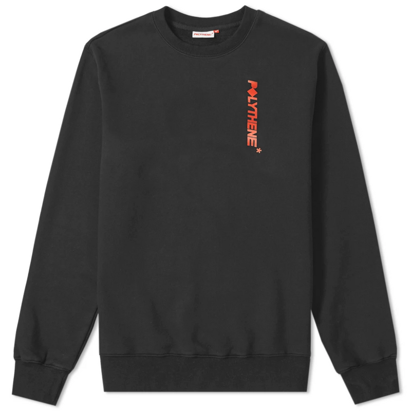 Logo Sweater Faded Black
