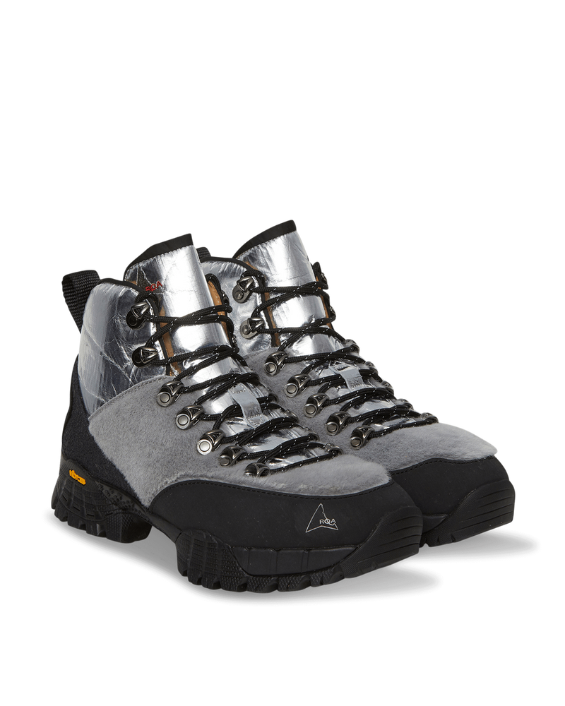Andreas Boots Fur Silver