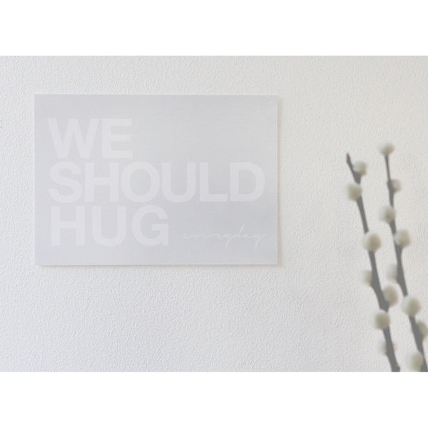 We should hug/kiss, postkort (5 stk.)