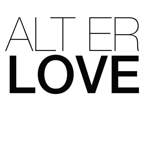 ALT ER LOVE, wallsticker
