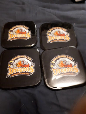 Dragons Custom Coasters Set of 4