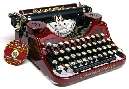 """Underwood Portable"" (Model F)2"
