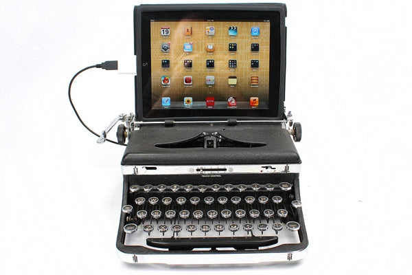 USB Typewriter as iPad Dock