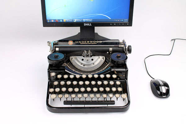 Typewriter Computer Keyboard / iPad Stand (Model A)