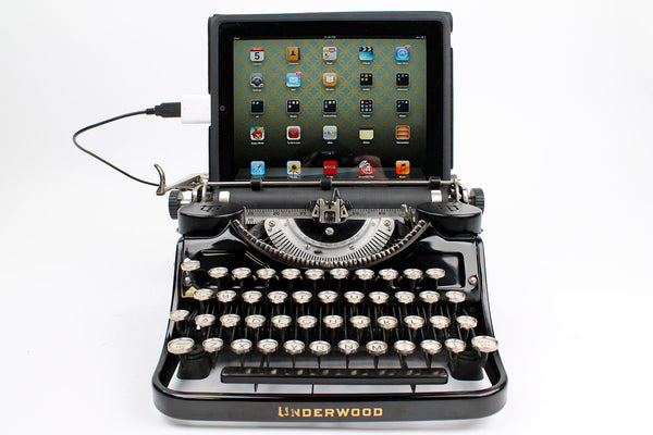 Typewriter Computer Keyboard / iPad Stand (Model F)