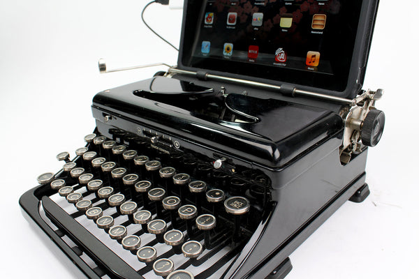 USB Typewriter Computer Keyboard/Dock (Royal Model O)