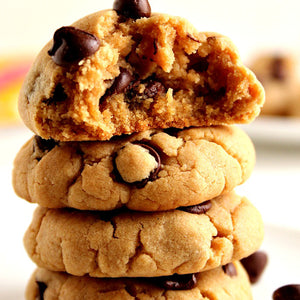 CHOCOLATE CHIP PEANUT PUDDERS