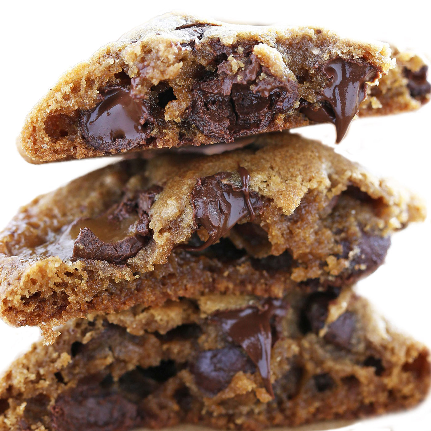 Ultimate Cookie made with Dark Chocolate Chips, Butterscotch Chips and Peanut Butter
