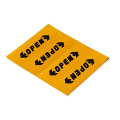 4Pcs Reflective Auto Car Door Open Warning Stickers Decal Tape