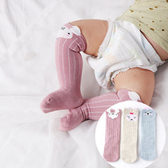 Light and breathable Cotton material Socks For Baby Toddler Kids Girls