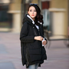 Women Coats Thickening Cotton Coat Large Size Women Clothing Clothes Outerwear