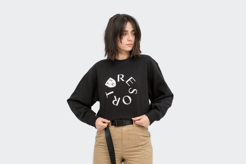 Black Resort Sweatshirt