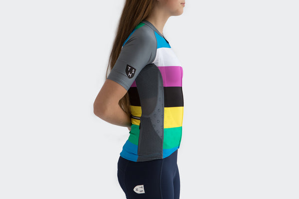 Women's Grey Stealth Jersey