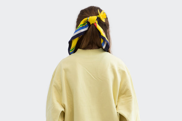 Pale Yellow Resort Sweater