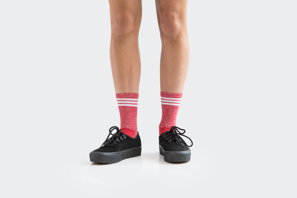 Merino Adventure Socks (Badlands Red)