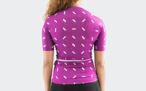 Women's Purple Sprinkle Jersey
