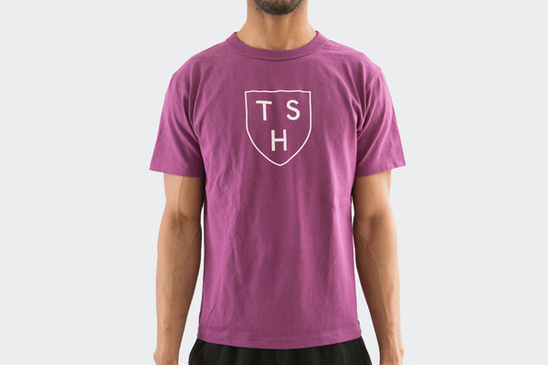Men's Purple Shield T Shirt