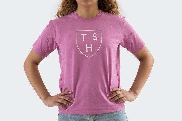 Women's Purple Shield T Shirt