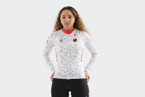 Women's Long Sleeve CX Fever Jersey (Team Issue)