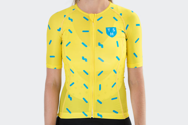 Women's Yellow Sprinkles Jersey