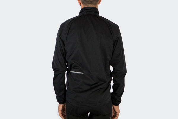 Men's Black Rain Jacket