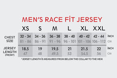 Men's Race Fit Black Jersey