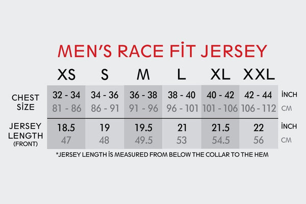 Men's Race Fit White Paper Boats Jersey