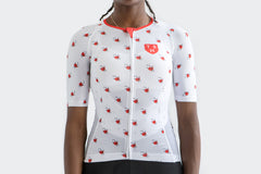 Women's White Cherries Jersey
