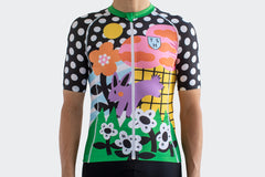 Men's Purple Bunny Race Fit Jersey