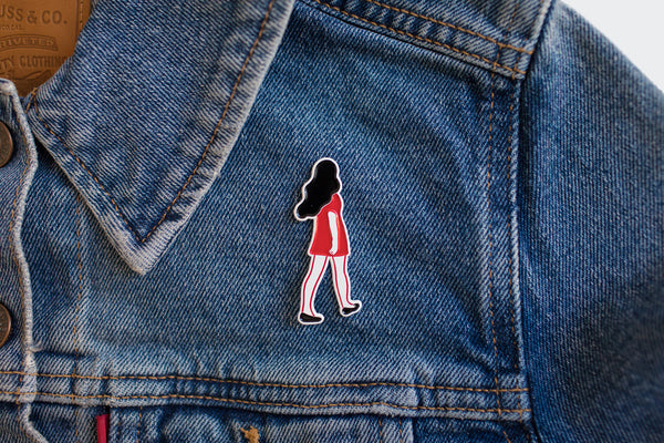 Marching Women Enamel Pin
