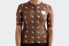 Women's Brown Sprinkles Jersey