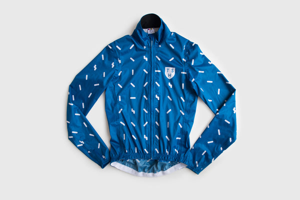 Men's Blue Sprinkle Rain Cape