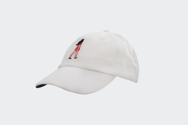"Marching Woman ""Dad Cap"" (white)"