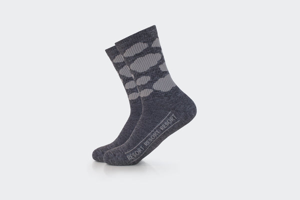 Merino Wool Cloudy Day Socks