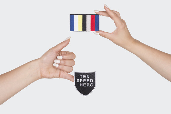 Tenspeed Hero Shield and Club Color Patches