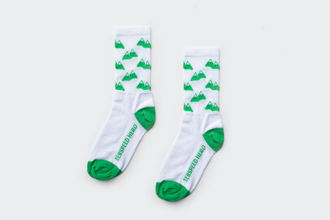 Amelia Strong Green Mountains Socks (Factory Seconds)