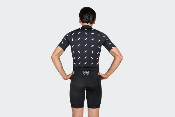 Men's Black Sprinkles Skinsuit