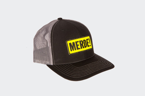 MERDE! Ball Cap - Charcoal Grey
