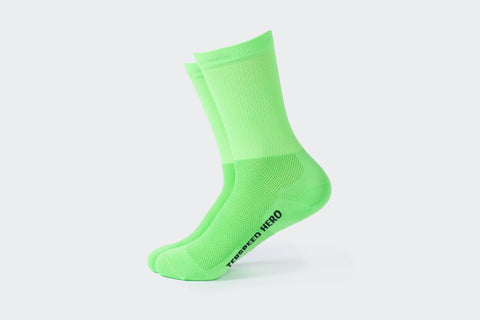 Lime Green Team Adventure Socks