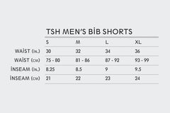 Men's Resort Striped Bib Shorts