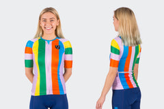 The Women's TSH Resort Race Fit Umbrellas of Cherbourg Jersey